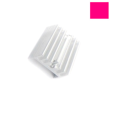 10PCS TO-220 Silver Heatsink Heat Sink for Voltage Regulator / MOSFET 20*15*11mm