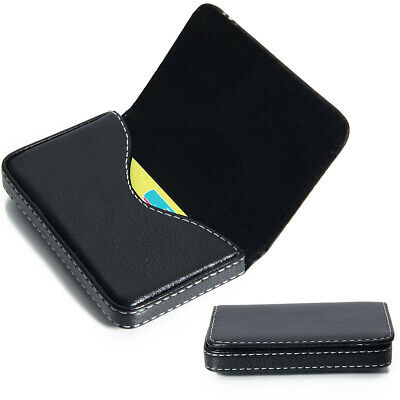 Pocket PU Leather 20 Business ID Credit Card Holder Case Wallet Christmas Gifts