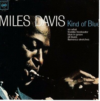 MILES DAVIS: A KIND OF BLUE 1962 (1986 CD reissue)