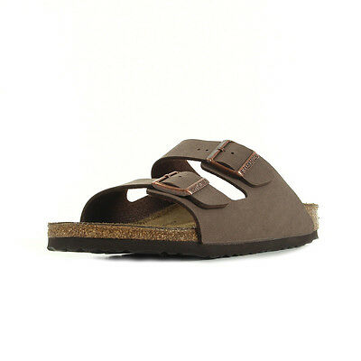 Sandales Nu Pieds Birkenstock homme Arizona taille Brun Brune Synthétique A