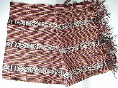 Large Old Woven Tribal Textile / Ikat Timor Indonesia Oceanic