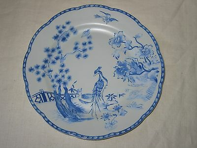 Mottahedeh Virginia Blue Williamsburg Reserve Collection Salad Plate 2006