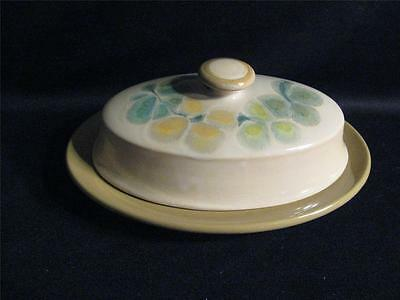 Franciscan Pebble Beach Covered Butter Dish