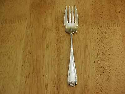 """DURGIN Sterling Silver NEW STANDISH c1905 SALAD FORKS 5-7/8"""" Very Good NM  302"""