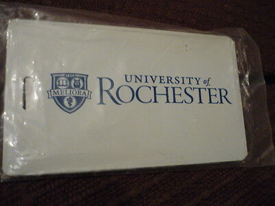UNIVERSITY of ROCHESTER  Luggage Tag NIP