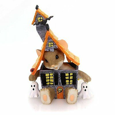 Charming Tails YOU HAVE A BOO-TIFUL LITTLE HOUSE Polyresin Haunted Ghost 30399