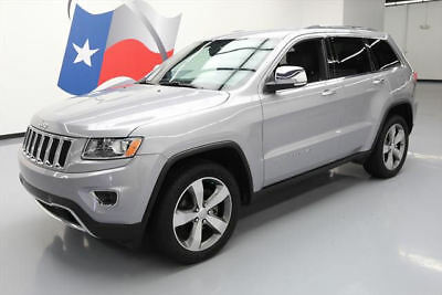 2014 Jeep Grand Cherokee Limited Sport Utility 4-Door 2014 JEEP GRAND CHEROKEE LIMITED NAV REAR CAM 20'S 30K  #377839 Texas Direct