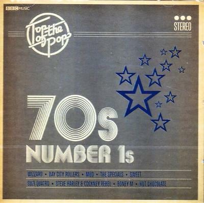 Top Of The Pops - 70's Number Ones - Various Artists (New Sealed Cd)
