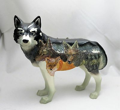 Westland Giftware Call of The Wolf Resin Figurine, BLOOD BROTHERS