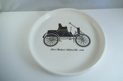 Vintage Harkerware First Packard Automobile 1899 Car Dish Plate