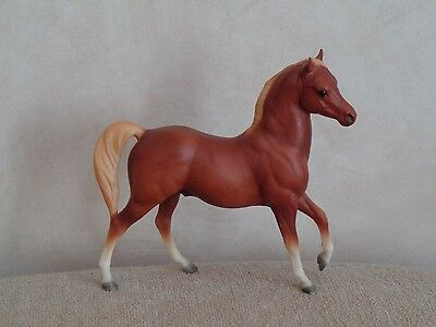 "Collectible Vintage Breyer Molding Company Toy Model Horse 7""t"