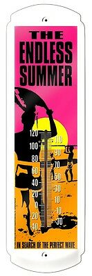 Endless Summer,Beach,River,Surfing,Perfect Wave-Metal Thermometer`New->Free 2 US