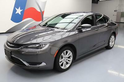 2016 Chrysler 200 Series  2016 CHRYSLER 200 LIMITED REAR CAM BLUETOOTH ALLOYS 40K #141365 Texas Direct