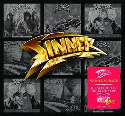 SINNER No Place In Heaven The Very Best Of The Noise Years 2CD NEW Digipak