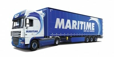 "Italeri Models 1/24 DAF XF 105 and Trailer ""Maritime Transport"""