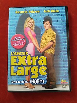 DVD L'Amour extra large GWYNETH PALTROW - JACK BLACK   Occasion