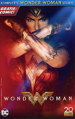 WONDER WOMAN GRATIS COMIC SPECIAL deutsch MOVIE-VARIANT-COVER Sensation Comics 6