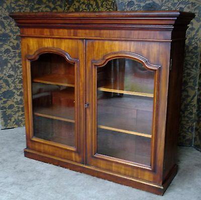 Edwardian Glass Fronted Cupboard