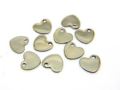 Blank Metal Tags for Engraving Stainless Steel Discs Pet ID Jewellery charms ML