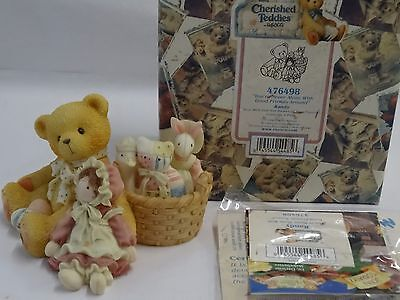 Have one to sell? Sell now Cherished Teddies Randy, You'll Never Alone W/Good F