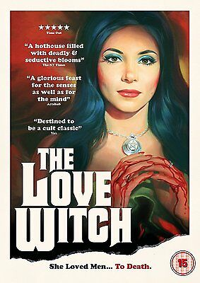 The Love Witch       Brand New Sealed Genuine Uk  Dvd