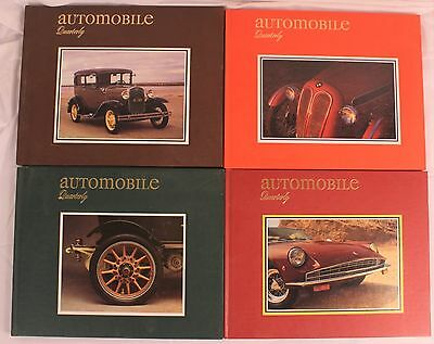AUTOMOBILE QUARTERLY VOL. 31, 33 - 35 NUMBERS 1 - 4 (4)Complete Sets