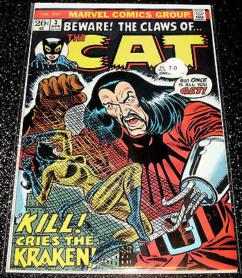 Beware The Claws of the Cat 3 (7.0) Marvel Comics