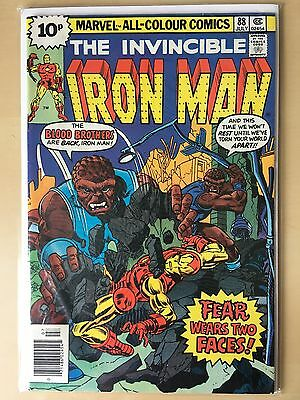 Iron Man #88 feat. Blood Brothers July 1976 VGC