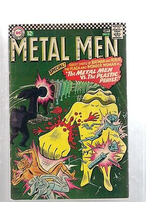 Metal Men #21 August September 1966 DC Metal Men Vs The Plastic Perils