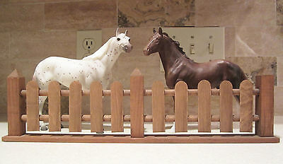 Wooden Fence for Model Horses  Breyer Classic Scale