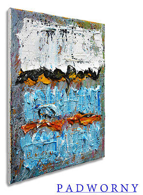 Original Oil Painting Modern Abstract Art Wine Conceptual Contemporary Nyc Pop A