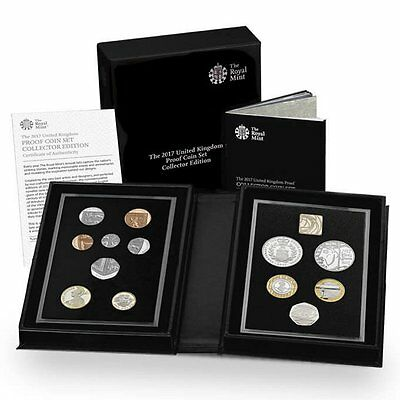 2017 United Kingdom UK Britain Royal Mint 13-Coin Annual Collector Proof Set