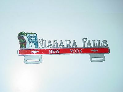 Niagara Falls New York NY License Plate Tag Topper Aluminum