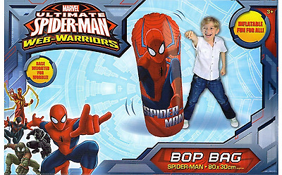Spiderman Spider Knight Avengers Hulk Inflatable Childs Boxing Bop Punch Bag