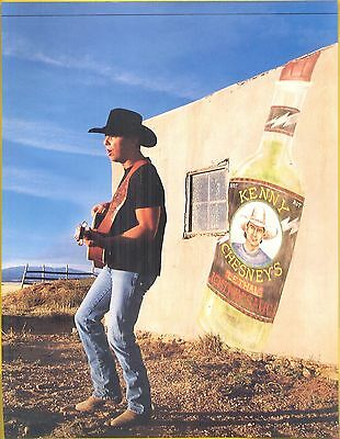 Kenny Chesney, Country Music Star in 1997 Magazine Print Photo Clipping