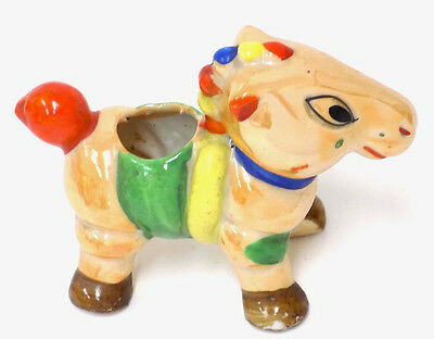 Colorful Vintage Luster Pony Pin Cushion Japan