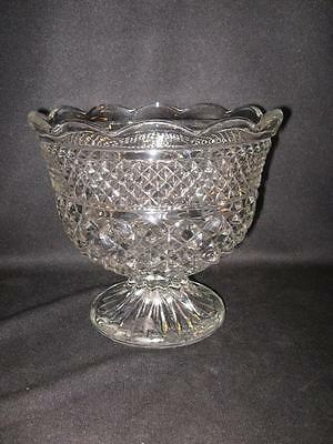 Anchor Hocking Wexford Footed Centerpiece Bowl