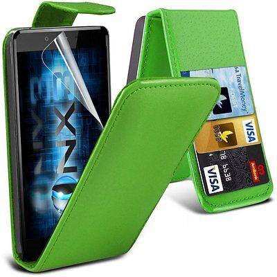 Job Lot of 5 PU Leather Flip Case for Apple iPhone 6 Plus / 6s Plus - Green