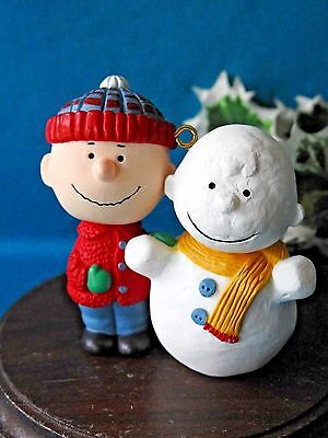 HALLMARK Ornament 1993 The Peanuts Gang Charlie Brown 1st in series