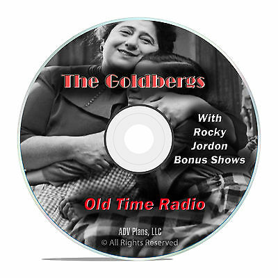 The Goldbergs, 1,019 Old Time Radio Country Music Shows OTR mp3 DVD G15