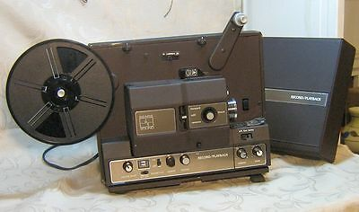 Super 8mm Sears (Bell & Howell) Sound II Projector w/Audio Playback & Record