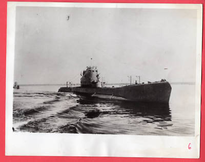 1941 Russian Submarines Set Sail in Northern Waters 7x9 Original News Photo