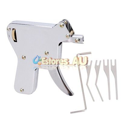 Hot Manual Lock Repair Tool Kit Lock Opener + Tension Wrench + Pick Blades【AU】