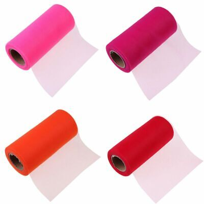 Colorful Home Tulle Roll Mesh Organza Ribbon Tutu Wedding Party Home Decor AU