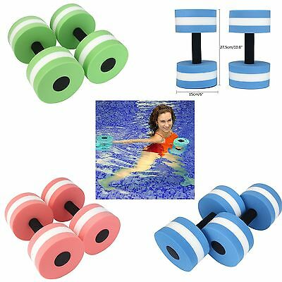 Swimming Floating Dumbbell EVA  Water Aerobics Aquatic Barbell Fitness Exercise