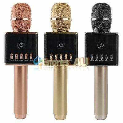 H8 Wireless Microphone Bluetooth Karaoke Microphone Stereo Mic Player Speaker