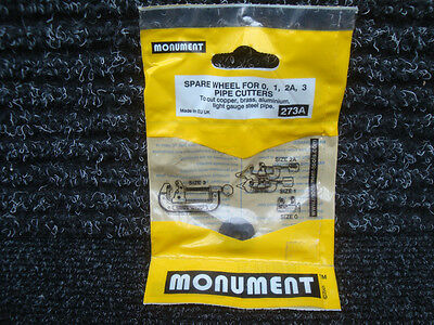 Monument 273A Plumbers Copper Pipe Cutter Spare Wheel