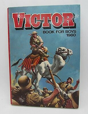 VICTOR Book for Boys 1980 Annual - Excellent - Tough of the Track Ripping Yarns