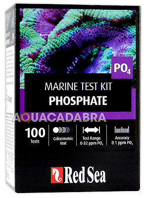 Red Sea Phosphate Marine Test Kit PO4 - 100 Tests for Reef Aquarium Fish Tank