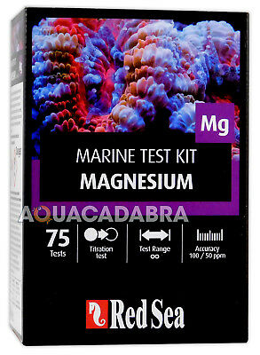 Red Sea Magnesium Marine Test Kit Mg - 100 Tests for Reef Aquarium Fish Tank